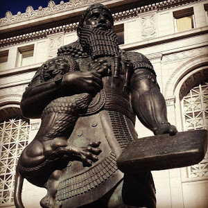 Statue of Ashurbanipal in San Francisco